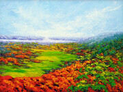 Champlain Lookout, Gatineau, 30x40in, oil on canvas by Margaret Chwialkowska